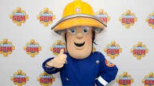 Fireman Sam showing character slipping on Qur'an is pulled