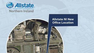 Allstate to build 'largest' NI office building
