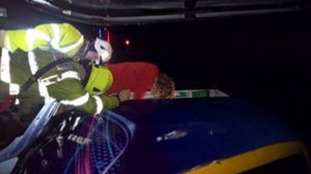 North Yorkshire Fire crews help after fire broke out on East Coast Mainline train