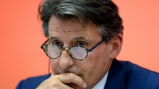 IAAF president Lord Coe insists Russia, not his organisation, is responsible for the country's drug-free athletes being banned from competing in Brazil.