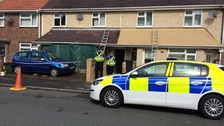 Four-year-old boy dies in house fire in Swansea