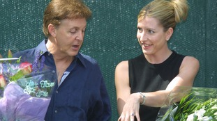 Paul McCartney and Heather Mills became engaged in the Lake District.