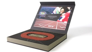 Your chance to own a real piece of Olympic history as the 2012 running track goes on sale