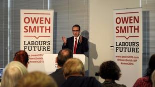 Owen Smith vows 'socialist revolution' to 'smash' austerity'