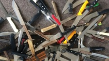 More than 300 knives have been surrendered to police as part of a four-week campaign by Staffordshire Police.