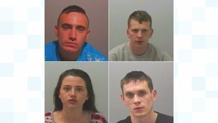 Four sentenced after North Tyneside hit and run