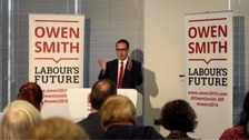 Owen Smith: Labour leadership hopeful criticised for 'smash May back on her heels' comment