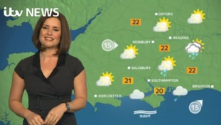 Wednesday lunchtime forecast for west of region