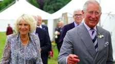 Prince Charles and Camilla at the Sandringham Flower Show