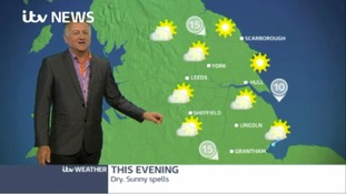 Afternoon weather update with Jon Mitchell