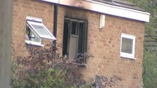 House caught in blaze in Harlow in Essex.