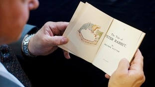 First edition of Beatrix Potter's The Tale of Peter Rabbit to go on auction