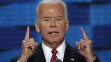 Joe Biden says Donald Trump has 'no clue'