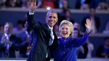 Obama hails Clinton as next US president to break barriers