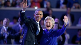 Barack Obama hails 'unifying' Hillary Clinton as 'most qualified' presidential candidate ever