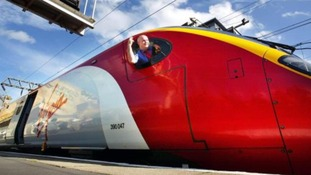 Virgin Trains travel the West Coast Main Line