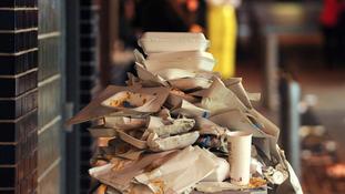 Rubbish in Caroline St