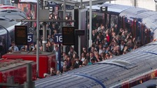 The 10 most overcrowded train services