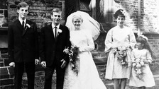 Appeal after 50-year-old wedding album found on bus