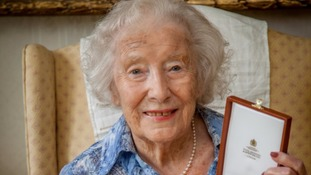 Dame Vera Lynn receives latest honour from Queen