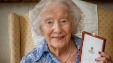 Dame Vera Lynn receives special honour from Queen