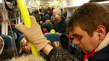 Region's rail services among most overcrowded