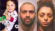Guilty verdicts in baby murder trial