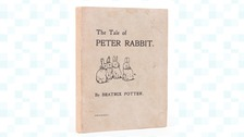 The rare 1901 edition of The Tale of Peter Rabbit