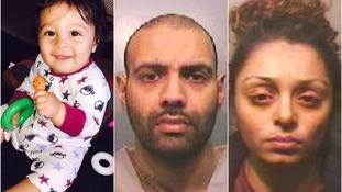 13-month-old Noah Serra-Morrison, Hardeep Hunjan and Ronnie Tayler-Morrison.