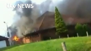 Two schoolboys arrested over Basingstoke church fire