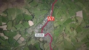 A7 running through Selkirk