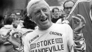 Sir Jimmy Savile pictured in 1981