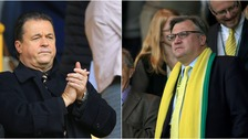 Jez Moxey (left) was the first choice for the Norwich City board.