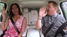 Michelle Obama in James Corden's Carpool Karaoke