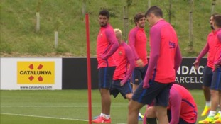 Messi and Suarez in Burton ahead of Leicester clash