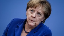 "German Chancellor Angela Merkel repeated her immigration mantra ""We can do it"" on Thursday after a string of attacks shocked the country"