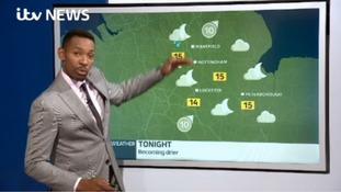 Des Coleman brings you the latest forecast for the East Midlands