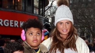 Katie Price's son Harvey 'target of £1 million kidnap plot'