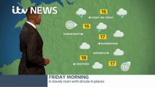 West Midlands Weather: a cloudy start with some drizzle