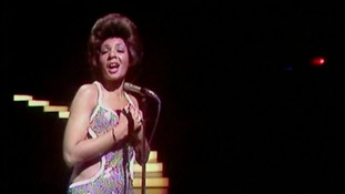 Shirley Bassey performing at the venue