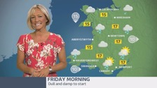 Wales Weather: A damp start, but brighter later!