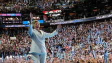 Clinton vows to be 'leader for all Americans'