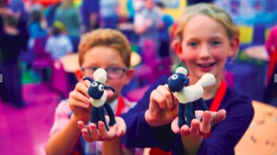 Visitors can learn how to make their own Shaun the Sheep clay model