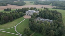 Ariel view of Ragley Hall