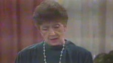 Vivean Gray, as Mrs Mangle in Neighbours