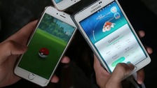 Teens playing Pokémon rescued from rising tide