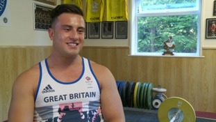 Sonny Webster: Team GB's only male weightlifter
