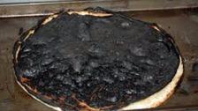 The burnt apple pie