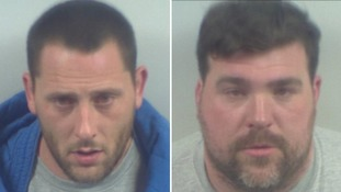 Mark Stribling and Robert Stilwell were sentenced to a total of nine years for attempting to smuggle 18 migrants into the UK.