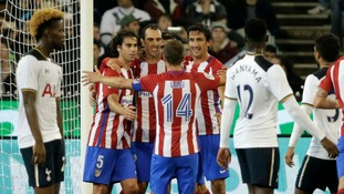 Spurs beaten by Atletico Madrid in Melbourne friendly